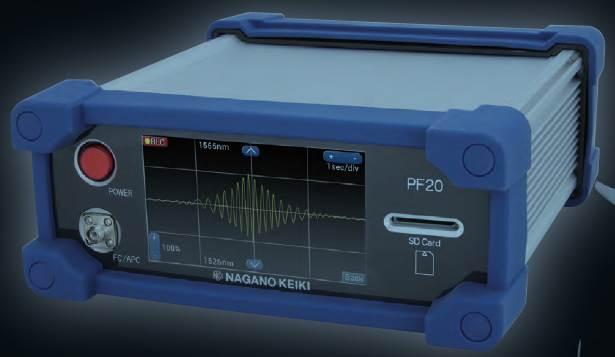 会員《長野計器株式会社》より、新製品「PF20 FBGデータロガー」を紹介します。