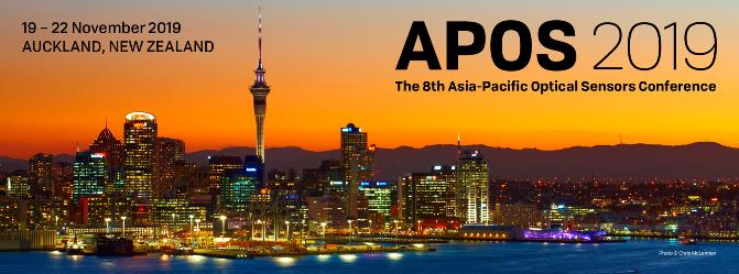 『第8回アジア太平洋光センサ会議(APOS2019)』が2019年11月19日(火)~ 11月22日(金)ニュージーランド オークランド市で開催されます。